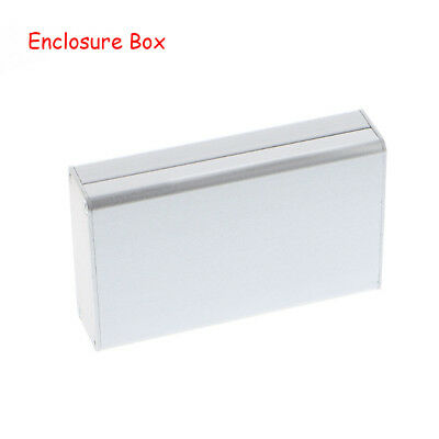 DIY Electronic Silver Enclosure Box Aluminum PCB Instrument Case Metal Shell
