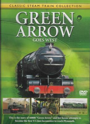 THE GREATEST STEAM ENGINES - Green Arrow Gpes West - Acceptable - DVD