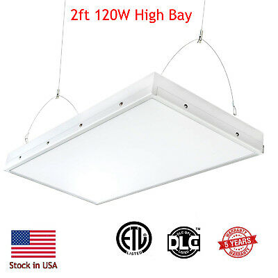 Warehouse LED High Bay Light 15,000 Lumens! 120W Replace Metal Halide Lamps 400W