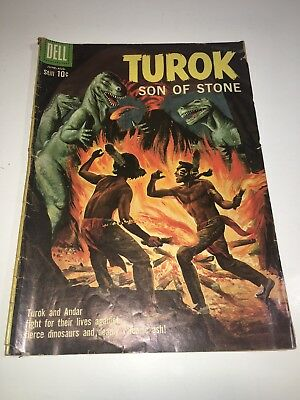 Turok Son of Stone (Dell/Gold Key) #20 1960 GD+ sold as UNGRADED