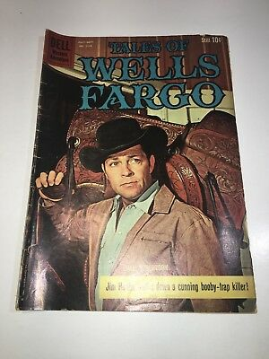 The Tales Of Wells Fargo 1960 Issue # 1113 Western Silver Age Dell Comic Book