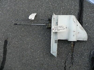 Evinrude Johnson Outboard Lower Unit 115 Hp 1977 Long Shaft P# 388612 Works!