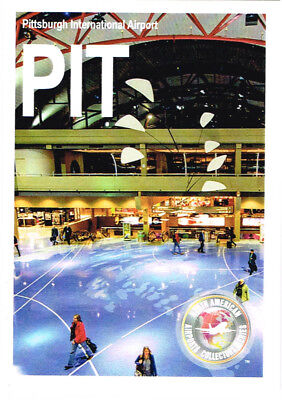 PIT-002 Collectible Airport Trading Card Pittsburgh International Pennsylvania