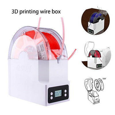 eSUN eBOX Multifunctional Wire Box Filament Spool for 3D Printer - EU UK Plug