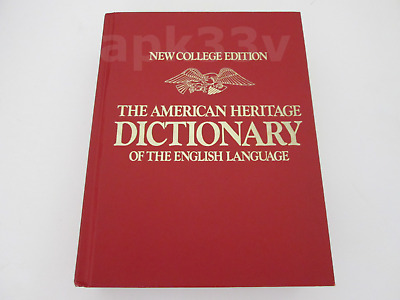 1979 ▰ American Heritage English Dictionary ▰ New College Edition ▰ Thumb Index
