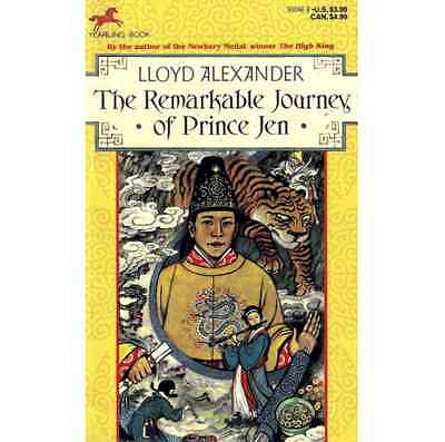 NEW ▰ The Remarkable Journey of Prince Jen ▰ Lloyd Alexander ▰ 1st Printing Dell