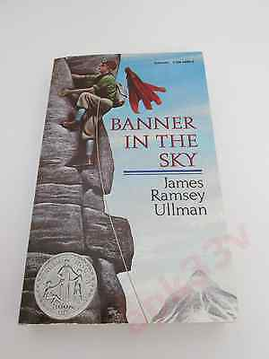 NEW Banner in the Sky ▰ James Ramsey Ullman ▰ 1st Scholastic Ptg 1990 Paperback