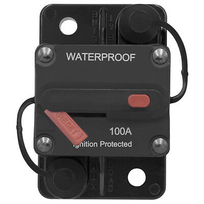 QTY5 VCB60 48VOLT Circuit Breaker 60A DC WATERPROOF W IGNITION PROTECTION
