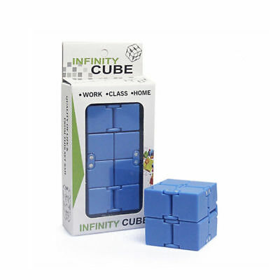 Magic Infinity Cube For Stress Relief Fidget Anti Anxiety Stress EDC Funny Toy
