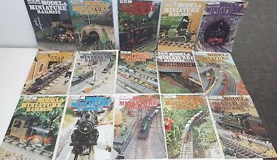 1970's History of Model and Miniature Railway Magazines - Edition 16 to 30