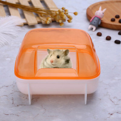 A245 Hamster Small Pet Bathroom Sand Activity Room House Sauna Toilet Plastic