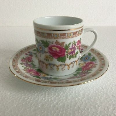 Chinese Small Coffee Cup And Saucer