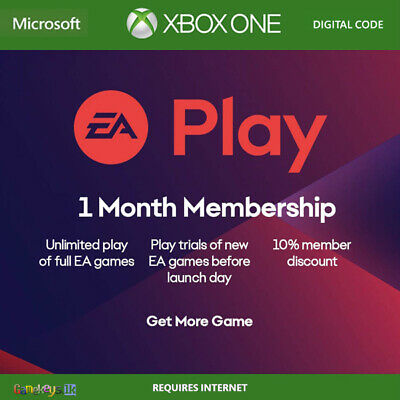 EA Access 1 Month Membership Subscription Region Free (Xbox One)