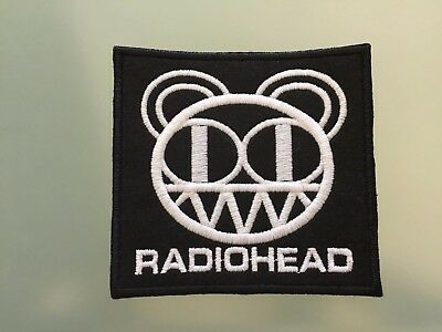 RADIOHEAD - Embroidered Iron On Patch 3.5""