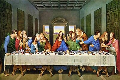 The Last Supper Poster 24x36 inch rolled wall poster