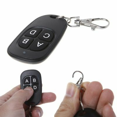 Remote Control 315/433MHz Cloning Wireless 4 Keys Waterproof Garage Door Key Fob