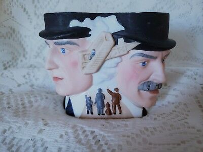 Avon Character Mug The Wright Brothers Vintage 1985 Porcelain