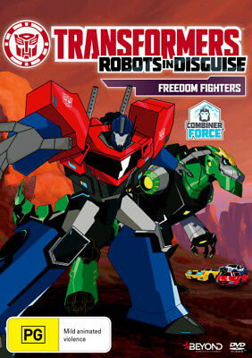Transformers: Robots in Disguise - Freedom Fighters  - DVD - NEW Region 4
