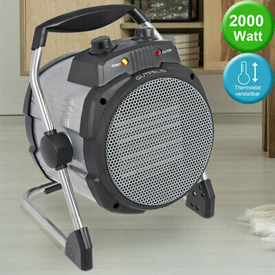 2000W heating fan electric ceramic fast heater 2 stages thermostat adjustable