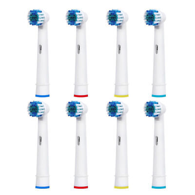 Braun Oral-B Precision Clean Electric Replacement Toothbrush Heads Pack Of 8 New