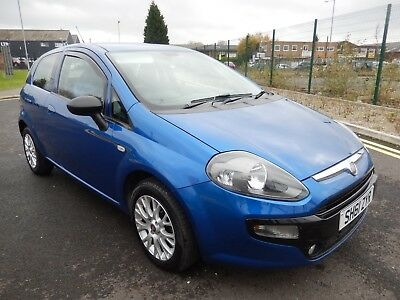 2011 61 plate FIAT PUNTO EVO 1.2 MYLIFE 3 door  service history and timing belt