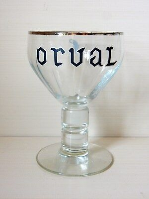 Beau grand verre Orval