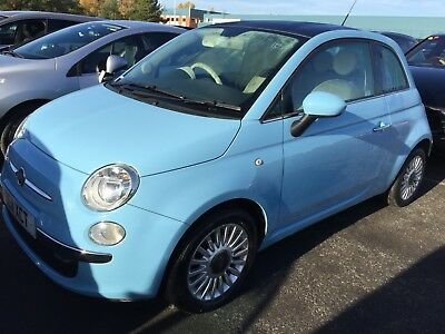 2011 Fiat 500 1.2 Lounge S/s - Panoramic Sunroof, Alloys, 1F/rec Owner, Nice Car