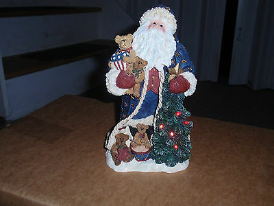 """BOYD'S BEARS """"STAR SPANGLED NICK"""" 2004, Lights-Up, First Edition, , used!"""