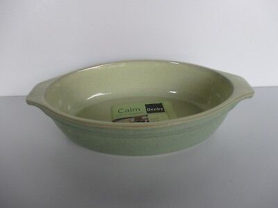 Denby Pottery Calm Small Oval Dish New First Quality Excellent Condition