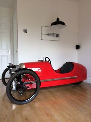 Morgan 3 wheeler supersport number 71 of 250 limited edition. unused. mancave