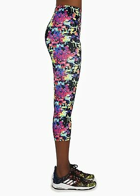 Leggings de sport femme court pantacourt coloré BAS BLACK REVEL 70 S M L XL 6524def6166