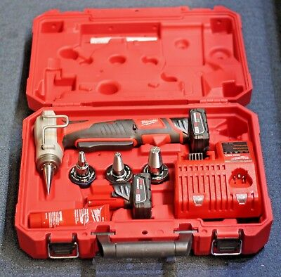 BRAND NEW Milwaukee M12 ProPEX 12 V Expansion Tool Kit - 2432-22XC W/ACCESSORIES