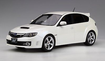 1:18 Route Twisk Otto Mobile Ot775 Subaru Impreza Wrx Sti Version X White Ot250