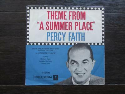 """7"""" Si. – ORCH. PERCY FAITH – Theme From A Summer Place – im Bildcover"""