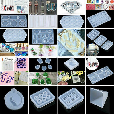 Multi Types DIY Silicone Mould Resin Jewelry Pendant Mold Christmas Xmas Gift