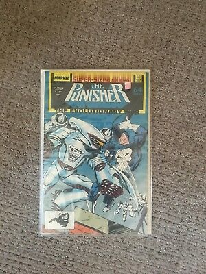 The Punisher Annual #1 (Aug 1988, Marvel) HIGH GRADE COMIC BOOK