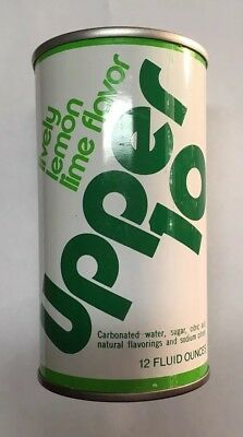 Vintage Upper 10 Pop Can 1970's (Empty) Royal Crown.