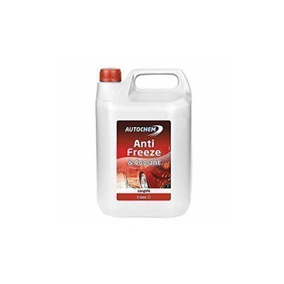 Autochem Red Longlife Antifreeze & Summer Coolant Concentrated 5L