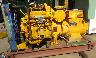 Generator.  caterpillar Engine