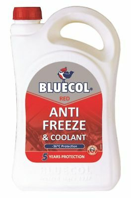 Bluecol 5 Year Protection Red Antifreeze Concentrate 5L -36 Protection