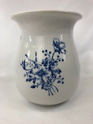 Gorgeous Antique Victorian Porcelain Chamber Pot Floral Design