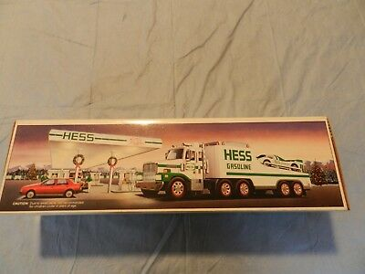 1991 Hess Truck And Racer NEW IN BOX