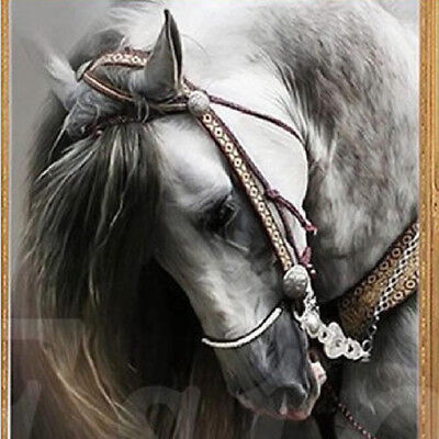 5D DIY Diamond Painting Full Drill Horse Embroidery Cross Stitch Wall Decor Z