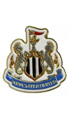Newcastle United Fc Club Enamel Crest Pin Badge Football Club Gift Fathers Day
