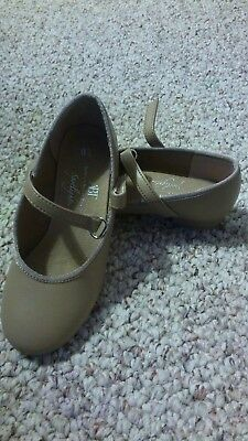 American Ballet theatre tap shoes toddler girls size 9 1/2 brown