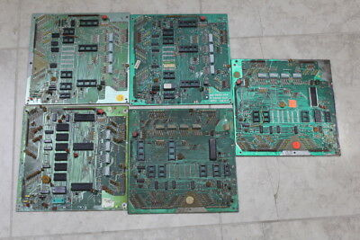 Lot of 5 Used Bally Pinball Machine Boards - FOR PARTS or REPAIR ONLY - Lot 12