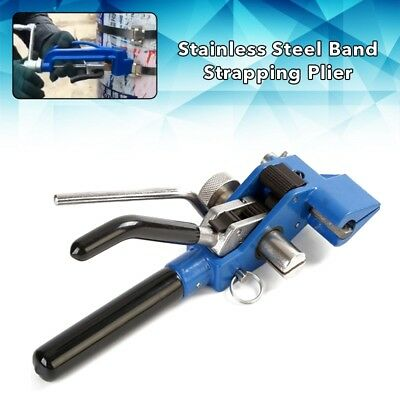 Manual Stainless Steel Band Strapping Plier Strapper Thorn Wheel Type LQA
