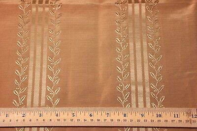 "French Antique 19thC Lyon Silk Sample Fabric~L-26"" X W-25"""