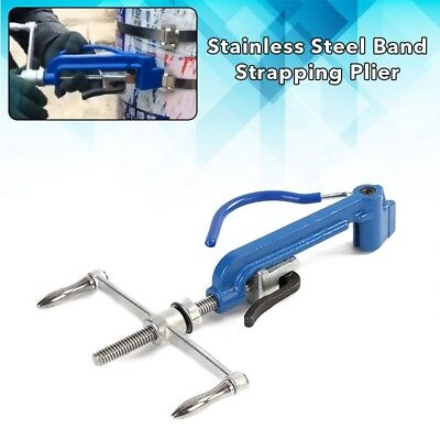 Stainless Steel Band Strapping Plier Strapper Packer Manual Binding Cutting Tool
