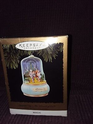 Vintage Emerald City The Wizard of OZ Hallmark Magic Ornament